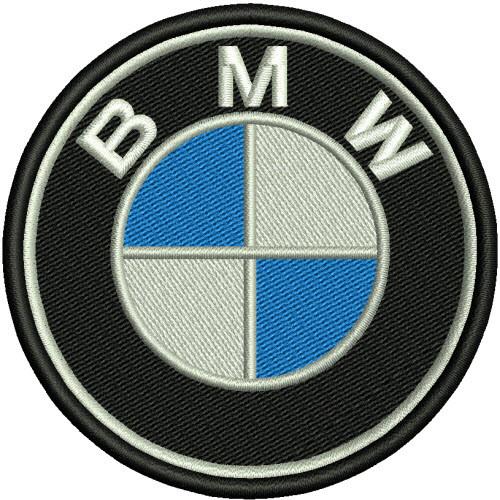 BMW Patch rund 6 cm