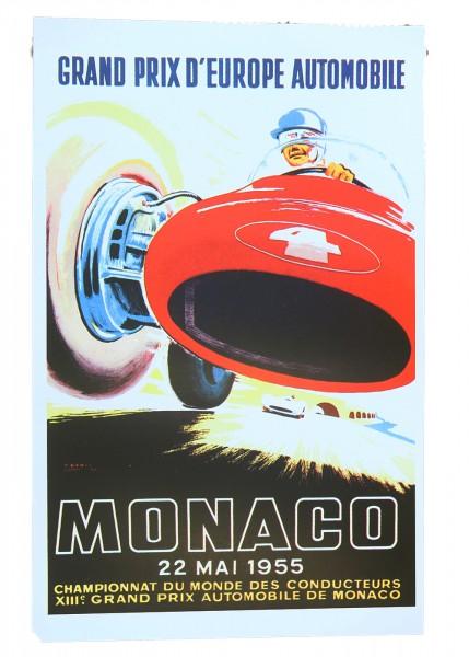 Poster Grand Prix d Europe Automobile Monaco