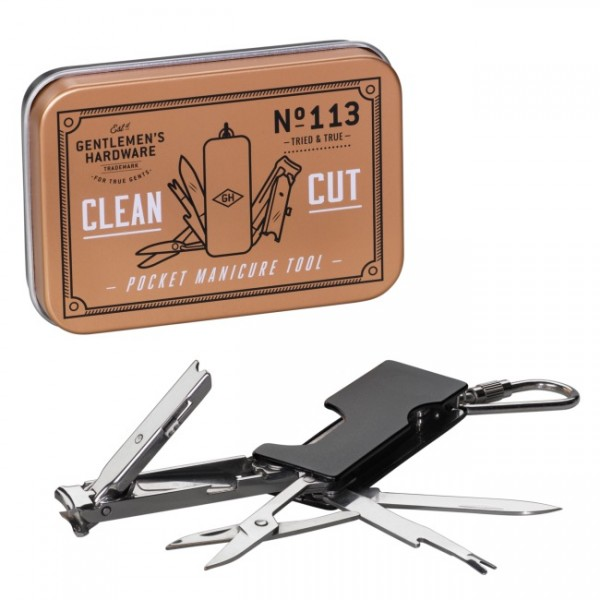 Gentlemens Hardware Mini Manicureset