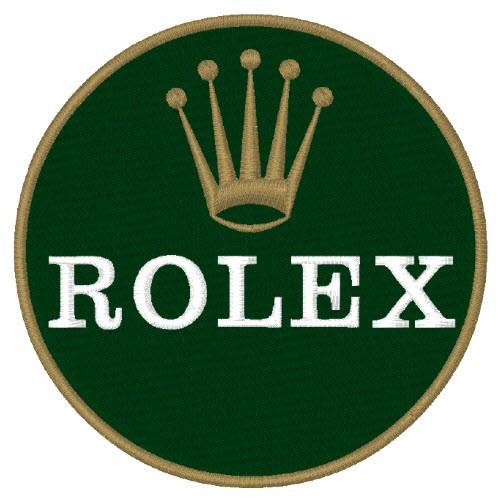 Rolex Aufnäher