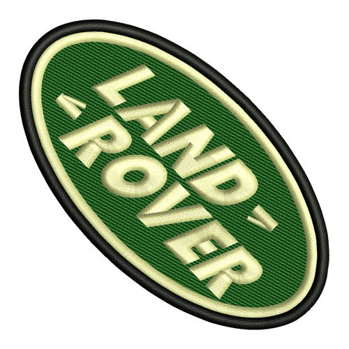 Land Rover Patch oval Aufnäher
