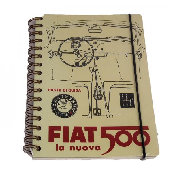 Notizbuch Fiat 500 la nuova
