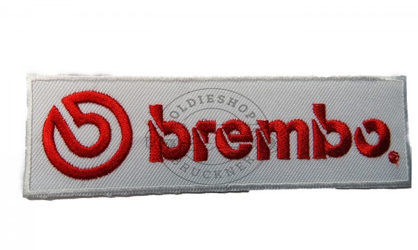 Brembo Aufnäher Patch