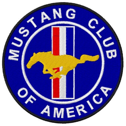 Mustang Club of America USA Patch