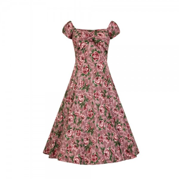 Dolores Rose Swing Kleid