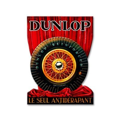 Dunlop Reifen Schild