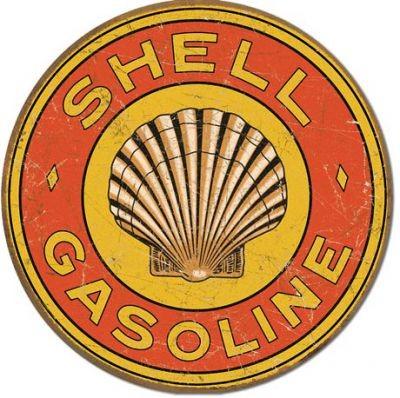 Shell Gasoline rund Nostalgie