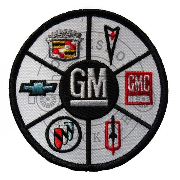 GM General Motors Aufnäher Patch