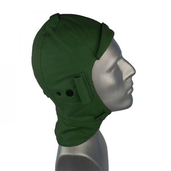 Cabriohaube aus feinstem Nappaleder in grün