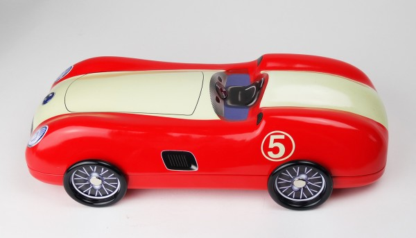 Roadster rot No. 5 Blechdose