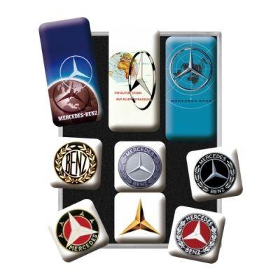 Magnetset 9Teilig Mercedes Benz