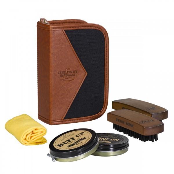 Schuhputzset Gentlemen's Hardware Shoe Shine Kit