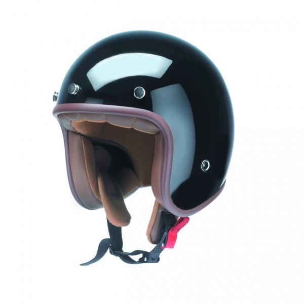 OIdtimer Jet Helm schwarz