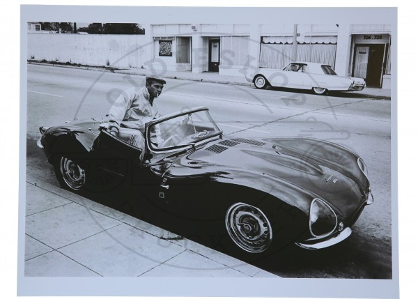 Foto Steve Mc Queen Jaguar XKSS
