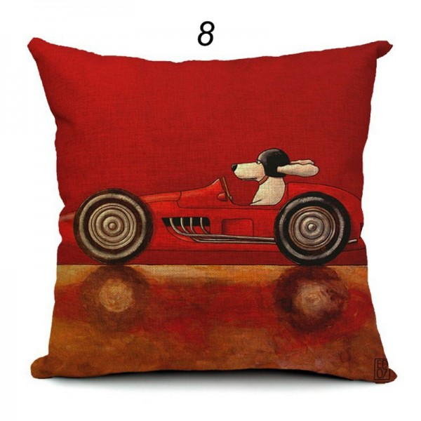 Polster aus der Art Serie No. 8 racing red