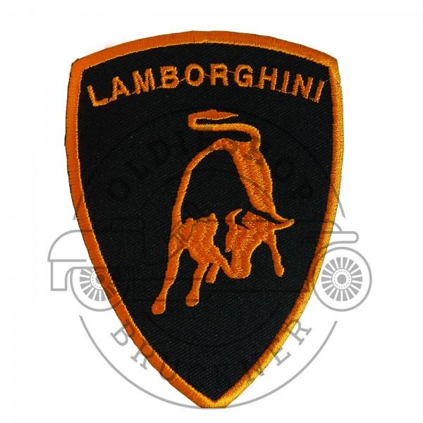 Lamborghini Orange Patch Aufnäher