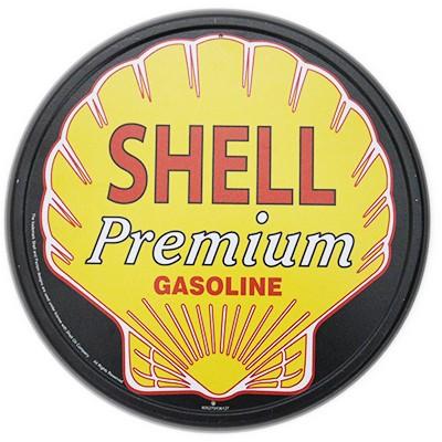 Shell Schild rund