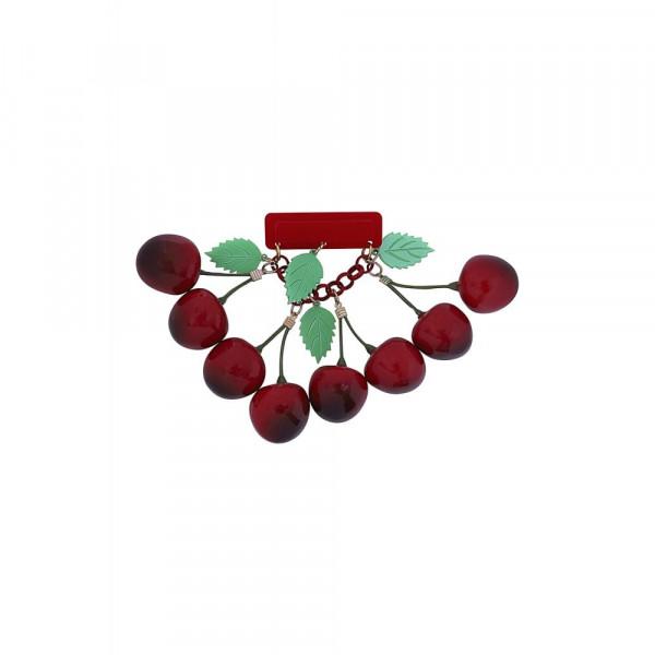 Vintage Cherries Kirsch Brosche