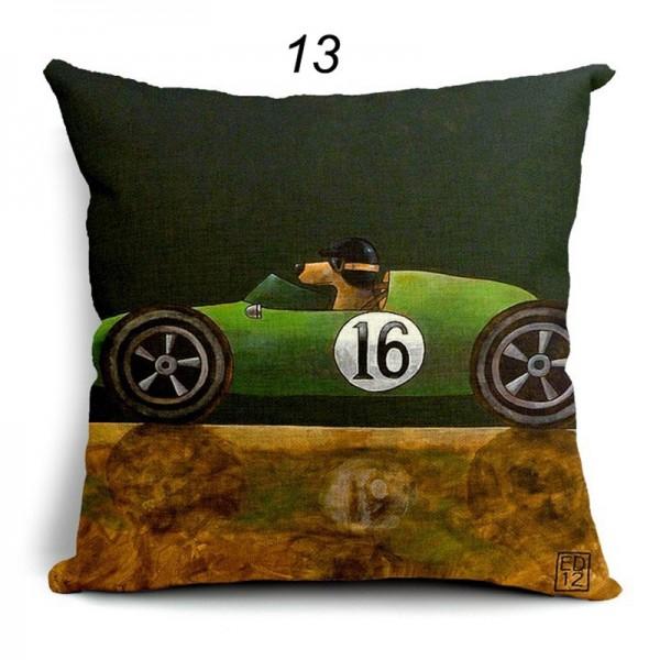 Polster aus der Art Serie No. 13 Racing green