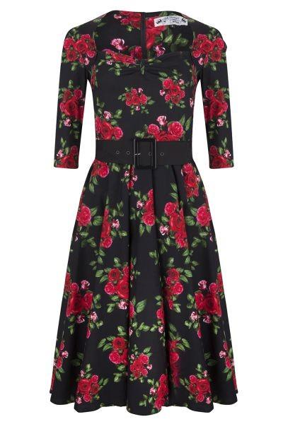 Swing Kleid mit 3/4 Ärmel Gr. 36