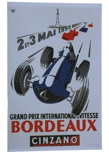 Poster Grand Prix de Bordeaux