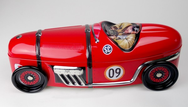 Racer No. 9 rot