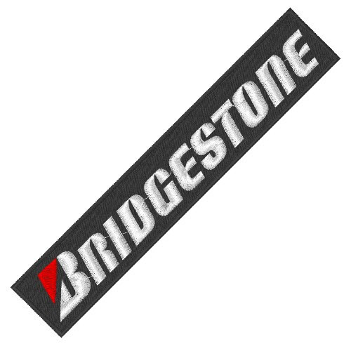 Bridgestone Patch groß 17x3cm
