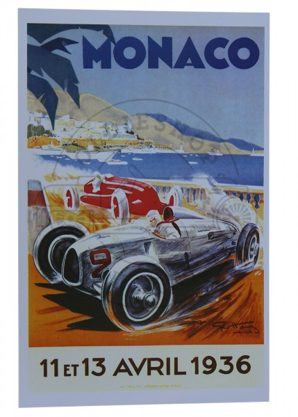 Poster Monaco 1936