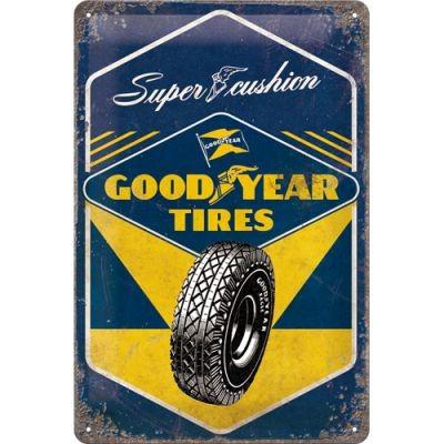 Metallschild Good Year Tyres