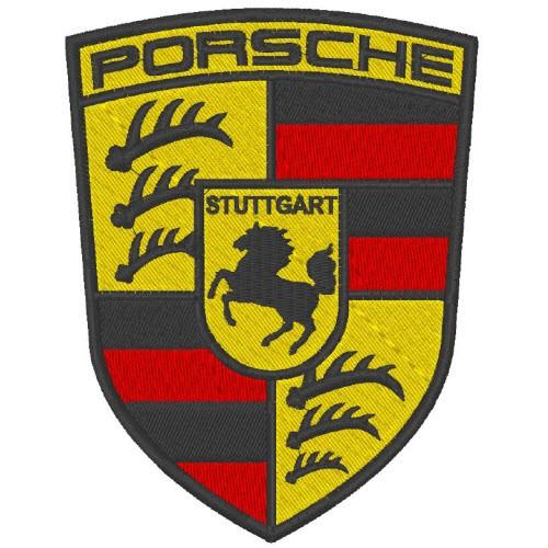 Porsche Aufnäher Patch