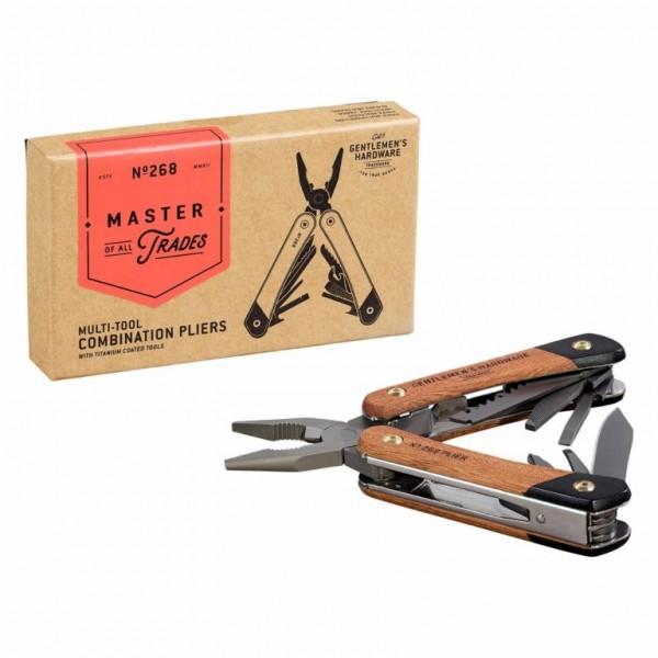 Multi Tool Lethermen mit Holzgriff