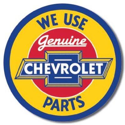 Chevrolet Parts rund