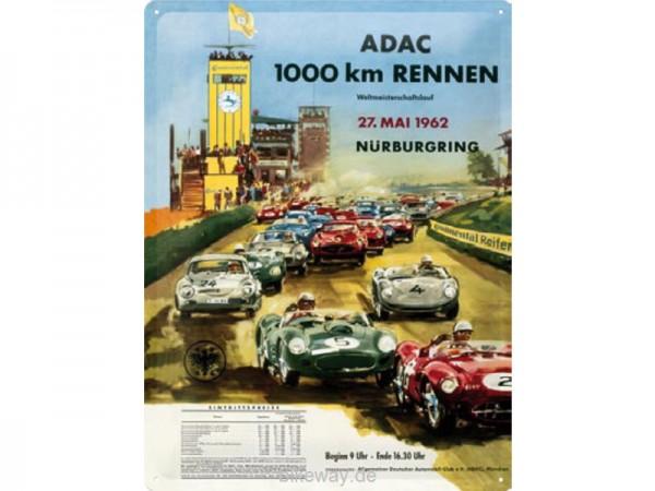 Metallschild ADAC Nürburgring