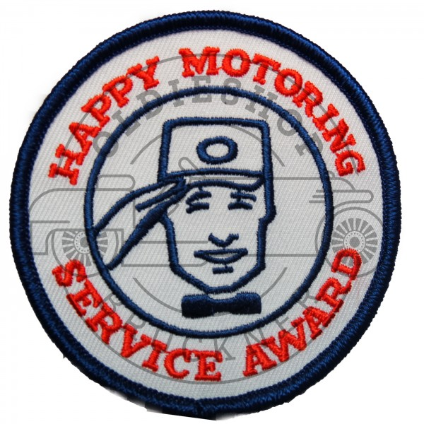 Happy Motoring Aufnäher Patch