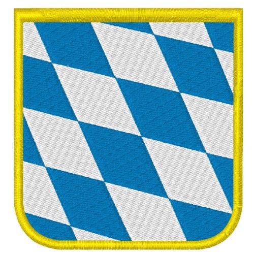 Aufnäher Falgge Bayern Deutschland Wappen