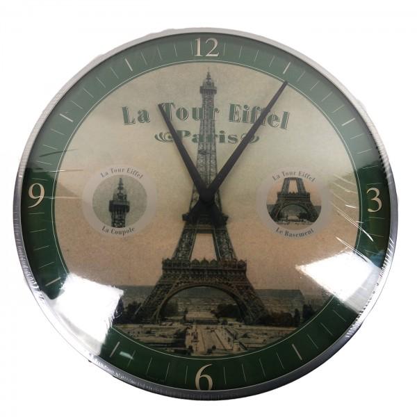 Wanduhr Paris La Tour Eiffel