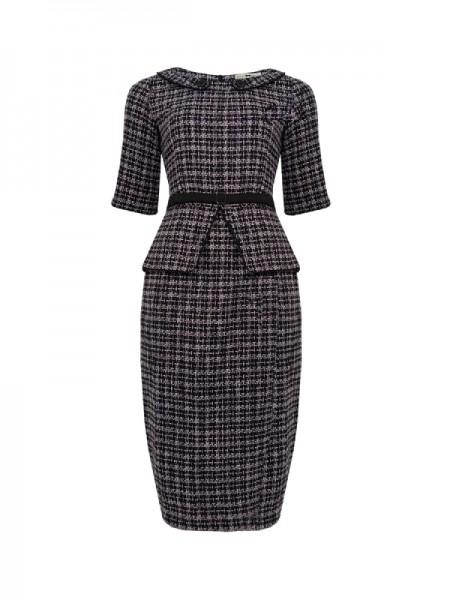 Wiggle Kleid im Chanel Stil Gr. 36