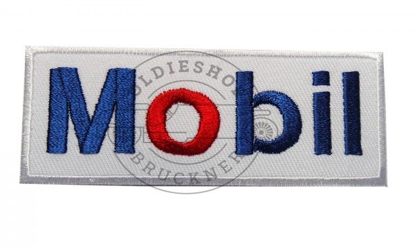 Mobil auf weißem Hintergrund Aufnäher Patch
