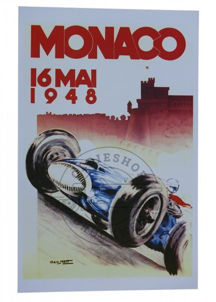 Poster Monaco Grand Prix 1948
