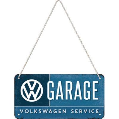 VW Garage - Hängeschild aus Metall