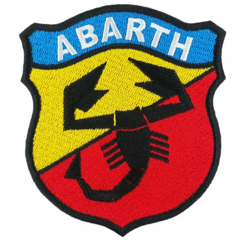 AbarthPatch Aufnäher