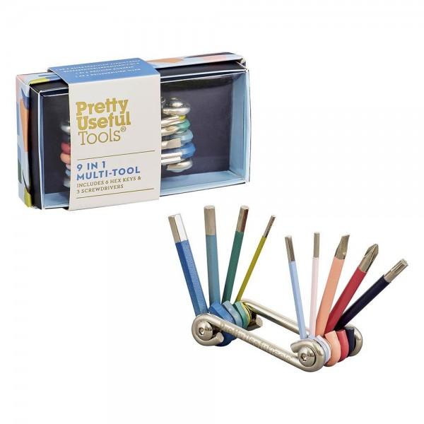 9 in 1 Multiwerkzeug Schraubendreher- und Inbusschlüssel Tool