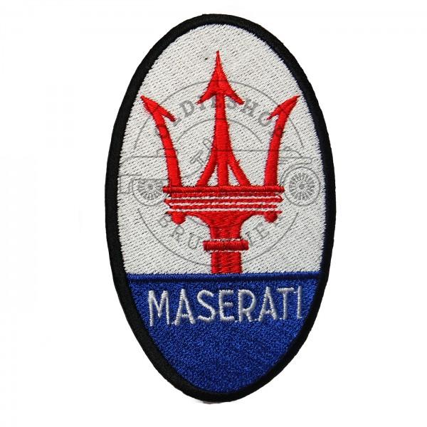 Maserati Aufnäher Patch auf Stoff