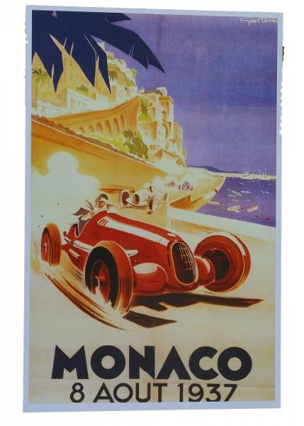 Poster Monaco 1937