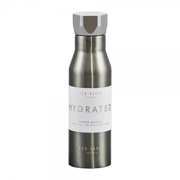 TED BAKER Wasser-Isolierflasche - 425ml Gunmetal