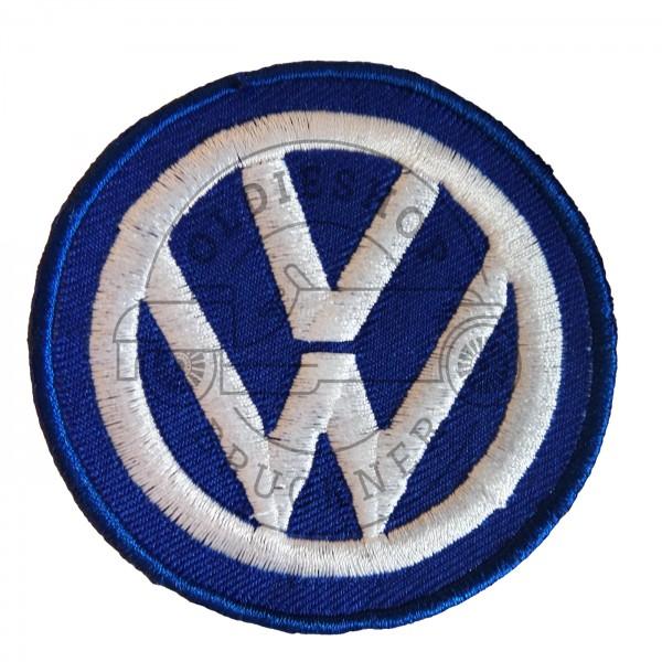 VW blau Aufnäher Patch