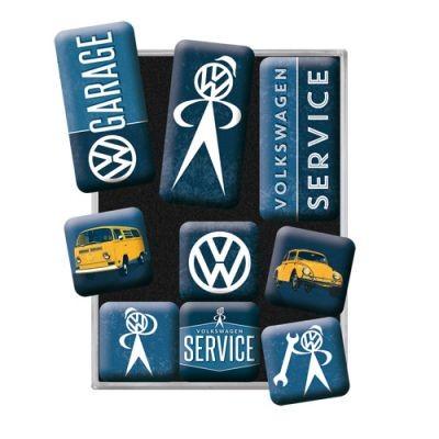 Magnetset 9 Teilig VW Garage