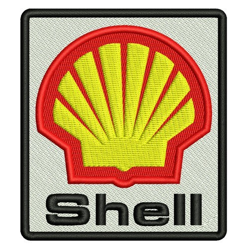 Aufnäher Shell Patch