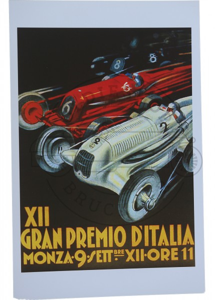 Poster Monza Gran Premio
