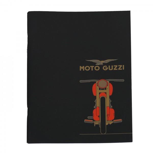 Motoguzzi Heft schwarz